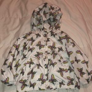 GAP butterfly girls jacket size 3 toddlers